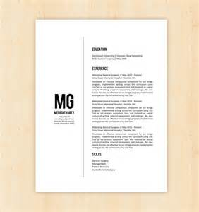 modern curriculum vitae templates for microsoft resume template cv template the meredith grey by phdpress