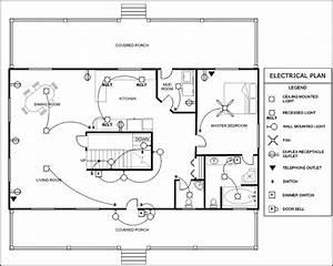 Electrical Plan Template - Sample Templates