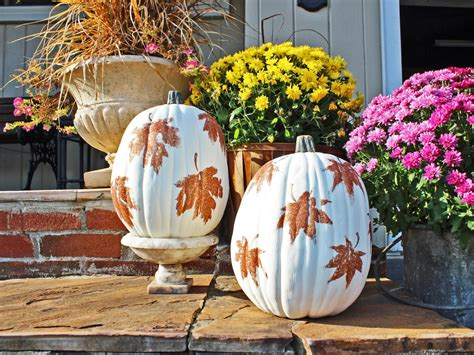 easily glam   fall decorations   glittering