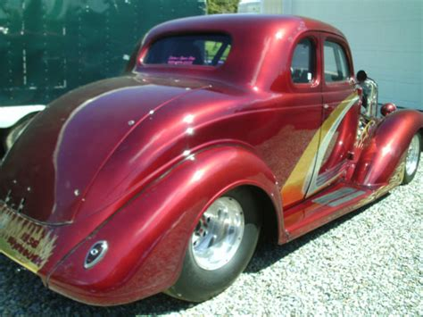 plymouth  window coupe pro street hot rod tube chassis