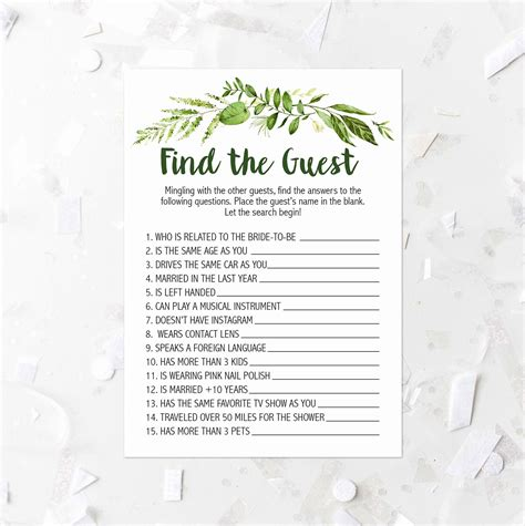 Bridal Shower Advice Cards Template by Bridal Shower Advice Cards Template Lovely Foliage