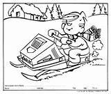 Snowmobile Ski Doo Coloring Pages Skidoo Drawing Getcolorings Printable Getdrawings sketch template