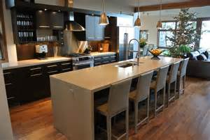 modern kitchen decor ideas concrete countertops custom concrete countertops