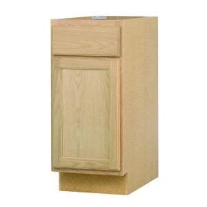 Unfinished Wood Cabinet Doors Home Depot by 15x34 5x24 In Base Cabinet In Unfinished Oak B15ohd At