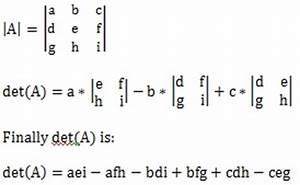 Determinante 4x4 Matrix Berechnen : determinant calculator ~ Themetempest.com Abrechnung