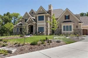 Suburban, Home, Exterior, High-res, Stock, Photo