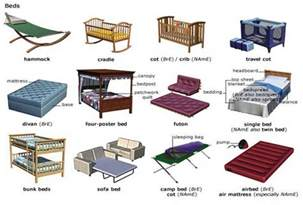 world of usage grammar vocabulary types of beds