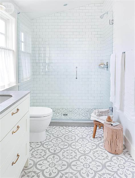 Bathroom Shower Floor Tile Ideas by 32 Best Shower Tile Ideas And Designs For 2019