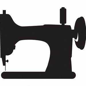 Sewing Machine Silhouette Clip Art Pictures to Pin on ...