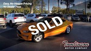 2019 Used Ford Mustang ECOBOOST FASTBACK NEW MSRP $28,930! at Tomlinson Motor Company Serving ...