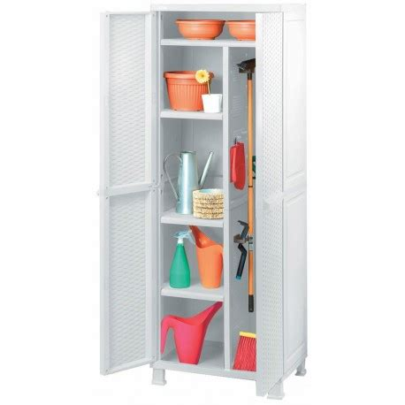 armadietti per esterno in resina armadio in resina bianco portascope in rattan 65 cm