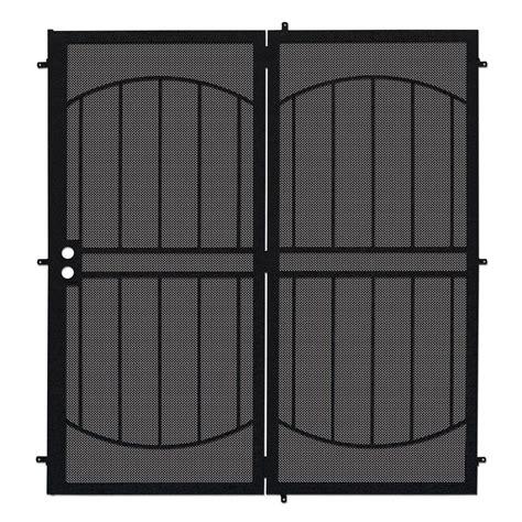 unique home designs 72 in x 80 in arcada black