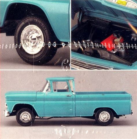 amt chevy 1960 fleetside pickup modelroundup
