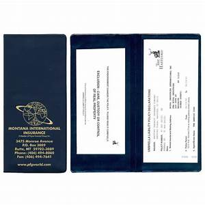 personalized policy and document holder usimprints With policy and document holder