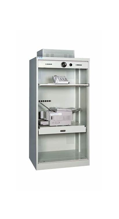 Cabinet Pc Secure Standing Offer Cabinets Powered