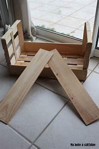 Cagette En Bois : un cadre en cagette en bois ma bo te a sartdine ~ Teatrodelosmanantiales.com Idées de Décoration