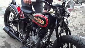 Antique Harley Davidson 1932 Vl Bobber