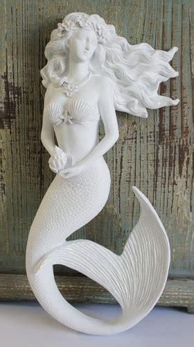 magic mermaid wall art figure  flowing hair hanging