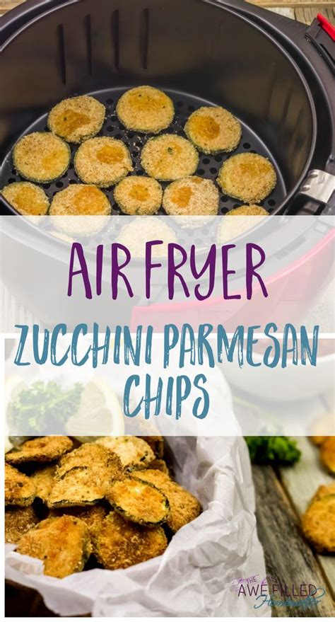 fryer air healthy recipes zucchini chips parmesan meals airfryer sticks