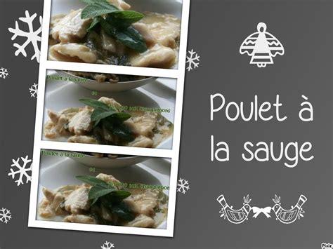 cuisiner la sauge poulet à la sauge tous en cuisine avec nadine