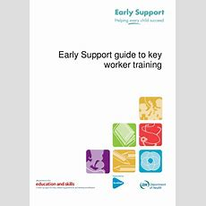 Early Support Guide To Key Worker Training[1]