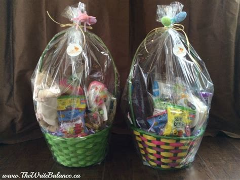 what goes in an easter basket easter basket diy giveaway the write balance