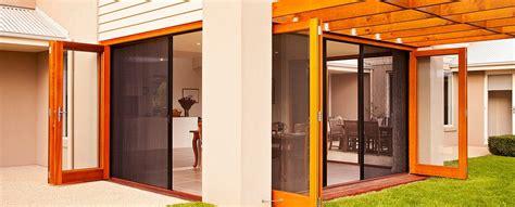 Retractable Fly Screens; French Doors, Bi Fold Doors