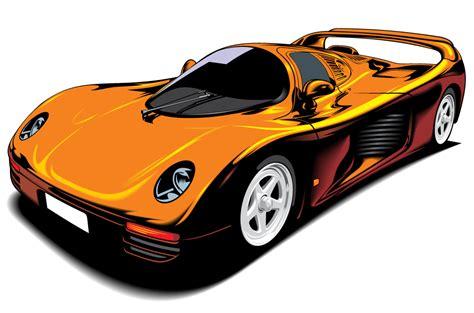 Beautiful Sports Car Vector