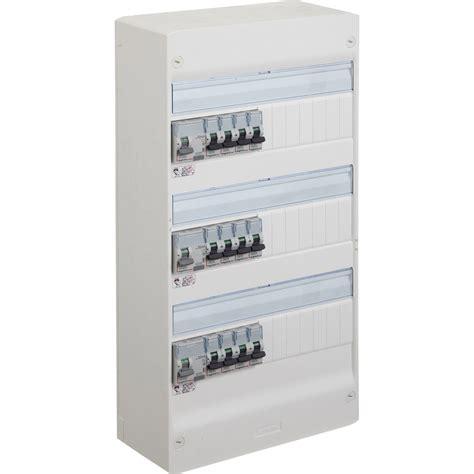 tableau electrique pour cuisine tableau électrique équipé et précâblé legrand 3 rangées 39 modules leroy merlin