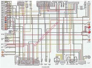 Diagrama Kawasaki Zzr600 90 93