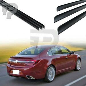 Unpainted Fit For Buick Regal 4-Door Sedan Rear Trunk Lip ...