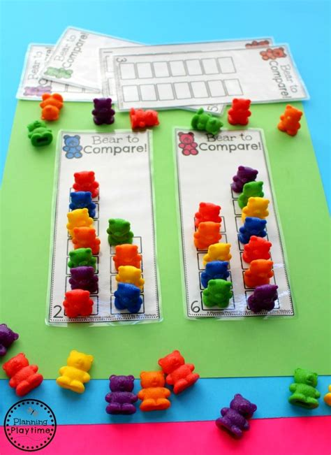 comparing numbers worksheets planning playtime 664 | Fun comparing number activity for kindergarten