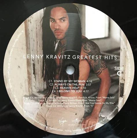 Best Lenny Kravitz Album Lenny Kravitz Greatest Hits Vinylvinyl