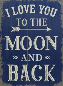 artificial wedding flowers i you to the moon and back 19 quot sign saveoncrafts