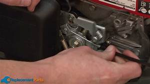 How To Replace The Throttle Cable On A Honda Hrx217 Lawn Mower  Part   17910-vh7-000