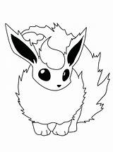 Coloring Fire Pages Flareon Printable Print Getcolorings sketch template