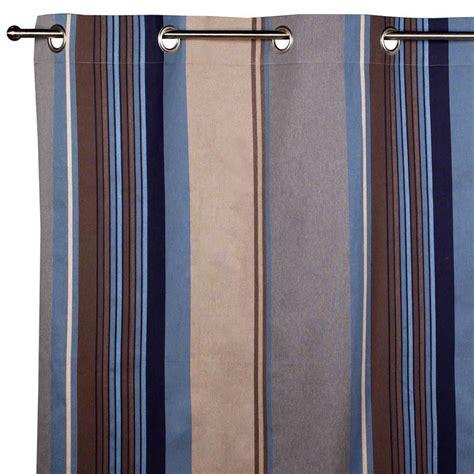 rideau bleu gris rideau diabolo gris bleu x cm inspire