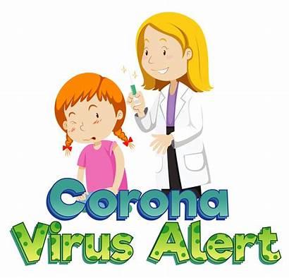 Vaccine Getting Coronavirus Poster Theme Clipart Graphics
