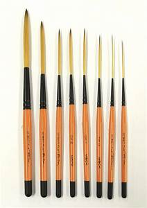 mack drag39n fly brush set by ted turner With pinstriping lettering brushes