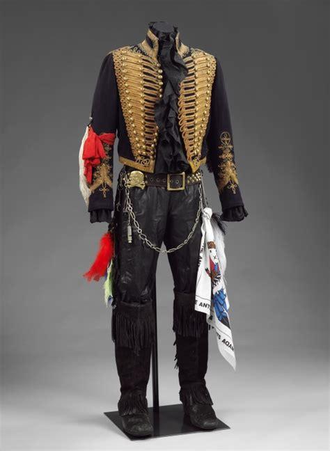 adam ant costume victoria frontier costumes wild albert kings museum boudoir collection battlefield sabrina 1983 london vam