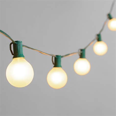 string lights frosted bulb string lights market