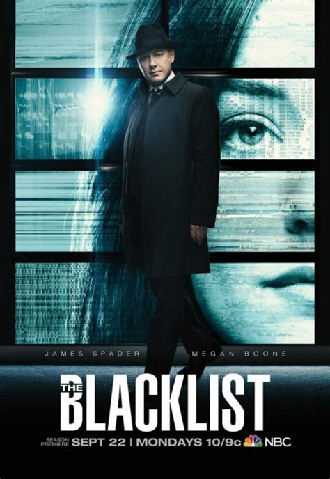 the blacklist season 2 tv show trailers poster image