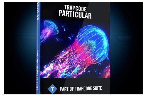 after effects plugin trapcode particular download