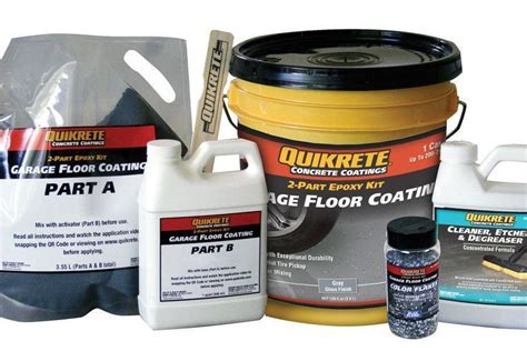 Epoxy Garage Floor Coating   JLC Online   Concrete Slabs