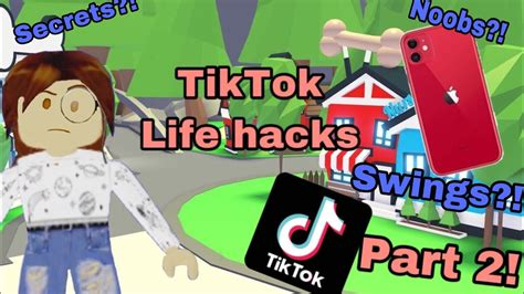 How to hack in roblox 2020! Adopt me life hacks! Part two! - YouTube
