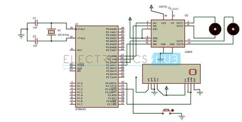 Human Detection Robot Circuit Using Microcontroller