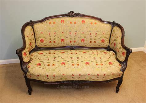 Antique Settee Sofa by Antique Edwardian Mahogany Sofa Settee Antiques Atlas