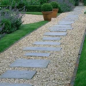 les 25 meilleures idees de la categorie jardin en gravier With attractive allee de jardin originale 1 allee jardin en gravier ardoise et bois creer une allee