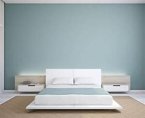 Chambre Gris Et Bleu : chambre pur e et zen en bleu gris chambre pinterest ~ Melissatoandfro.com Idées de Décoration
