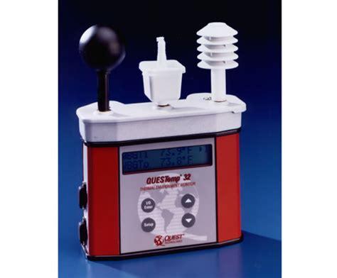 wbgt portable heat stress monitors waterless bulb